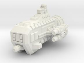 Jovian Garon class Escort in White Premium Versatile Plastic