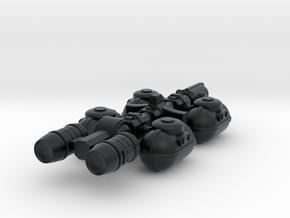 Fuel Tanker in Black Hi-Def Acrylate