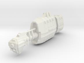 USASF Battlecruiser in White Premium Versatile Plastic