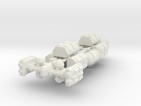 Cargo Tug: Loaded in White Premium Versatile Plastic