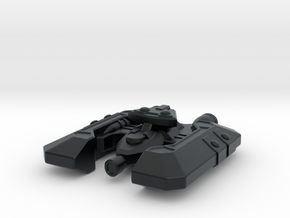 Badakh Frigate in Black Hi-Def Acrylate