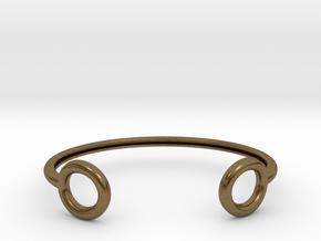 flux in Natural Bronze: Large