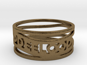 Katie Test Ring Size 6.5 in Natural Bronze