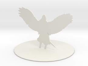 Solar (Angel) in White Natural Versatile Plastic