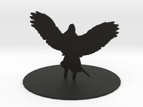 Solar (Angel) in Black Premium Versatile Plastic