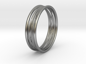ring_rope in Natural Silver