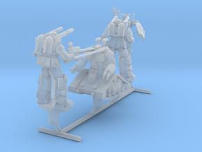 White Base Team from Gundam, 1:1000 in Smooth Fine Detail Plastic