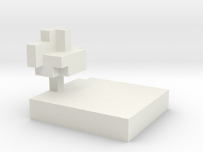 minecraft chunk in White Strong & Flexible