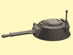 28mm APC round turret scatterlaser in White Strong & Flexible Polished