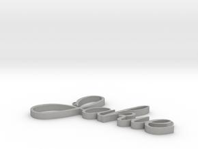 Jakie Necklace in Aluminum
