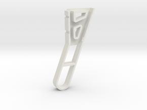 F450 Leg 100mm in White Natural Versatile Plastic