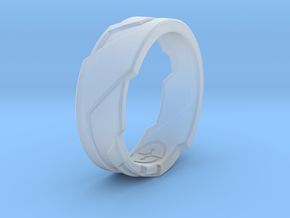 GD Ring (Choose Size Below) in Smooth Fine Detail Plastic