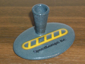 Speedbump Pen Holder (small) in Glossy Full Color Sandstone