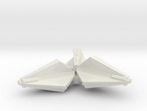 3125 Scale Tholian Destroyer Pinwheel SRZ in White Strong & Flexible