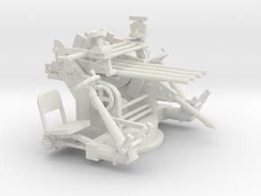 1/48 IJN Type 93 13mm Quad Mount in White Natural Versatile Plastic