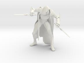 "Kallari 6.5"" Tall Figure in White Natural Versatile Plastic"