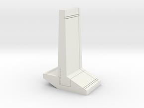 "Q-11: ""CHEWINGGUM HOLDER™"" by SIKI IM in White Natural Versatile Plastic"