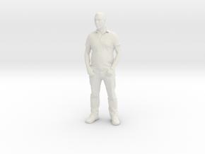 Printle F Homme Ben Affleck - 1/24 - wob in White Natural Versatile Plastic