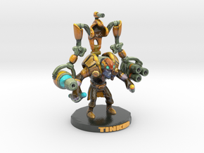 #DOTA2 Tinker #Valve  in Glossy Full Color Sandstone