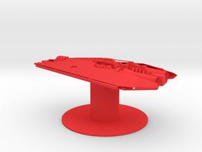 Narn - ThNor Cruiser (3.28 x / 1.92 y / 1.394 z) in Red Processed Versatile Plastic