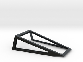 Cockpit Canopy Frame for Revell 1/29 X-Wing in Black Hi-Def Acrylate