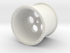 Eagle Rims Design 2 in White Natural Versatile Plastic