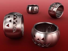 Pumpkin Ring in Stainless Steel