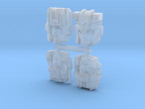 Prime Master Pretenders Set 1 in Smooth Fine Detail Plastic