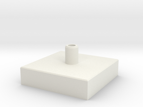 Concrete bloc in White Natural Versatile Plastic