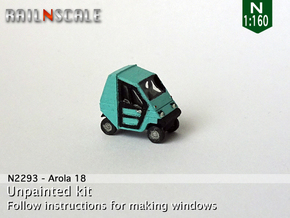 Arola 18 (N 1:160) in Smooth Fine Detail Plastic