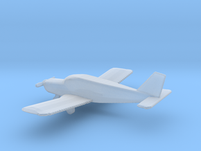 1:200 Scale Piper PA28 Cherokee in Smooth Fine Detail Plastic