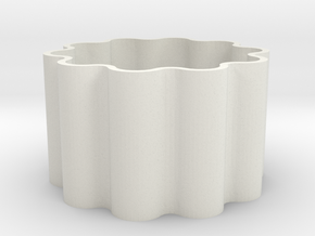 wave_roll in White Natural Versatile Plastic