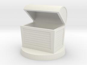 Fantasy chest mini (Empty) in White Natural Versatile Plastic