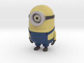 "One eyed minion from ""Despicable Me"" in Full Color Sandstone"