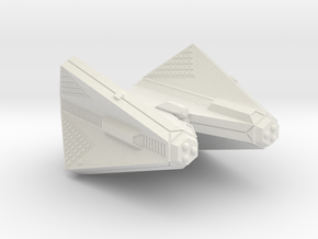 3125 Scale Tholian Web Caster Command Cruiser SRZ in White Natural Versatile Plastic