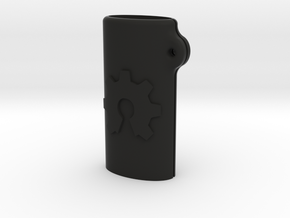 BIC mini OSH keychain in Black Natural Versatile Plastic