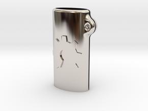 BIC mini OSH keychain in Platinum