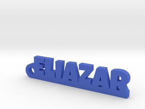 ELIAZAR_keychain_Lucky in Polished Brass