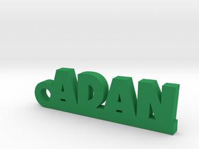 ADAN_keychain_Lucky in Green Processed Versatile Plastic