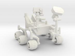 Curiosity Rover in White Natural Versatile Plastic