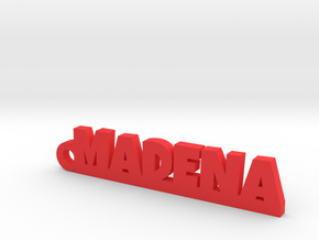 MADENA_keychain_Lucky in Red Processed Versatile Plastic