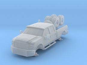 1/87 Scale Big Custom 4x4 Pickup in Smooth Fine Detail Plastic