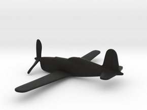Douglas XP-48 (w/o landing gears) in Black Strong & Flexible: 1:160 - N
