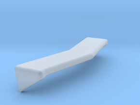 1-25 Conventional Cab Visor in Smooth Fine Detail Plastic