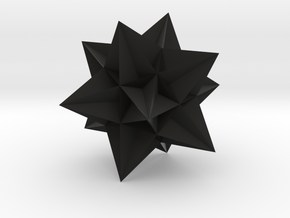 Great Icosahedron in Black Premium Strong & Flexible