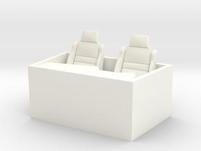 1-25 Small Interior in White Processed Versatile Plastic