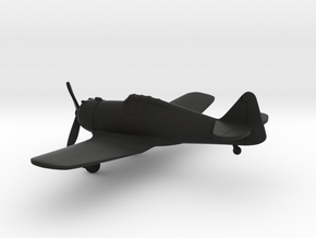 North American P-64 in Black Natural Versatile Plastic: 1:160 - N