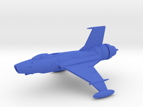Sabre Space Fighter  in Blue Processed Versatile Plastic