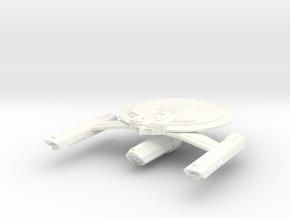 USS Spheerix in White Processed Versatile Plastic