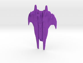CR Octurion-class Battleship Full Thrust Scale in Purple Processed Versatile Plastic